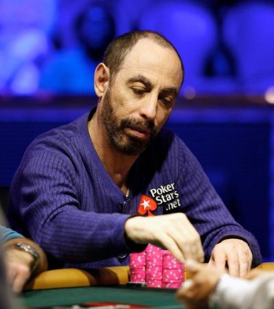 Барри Гринштейн за покерным столом