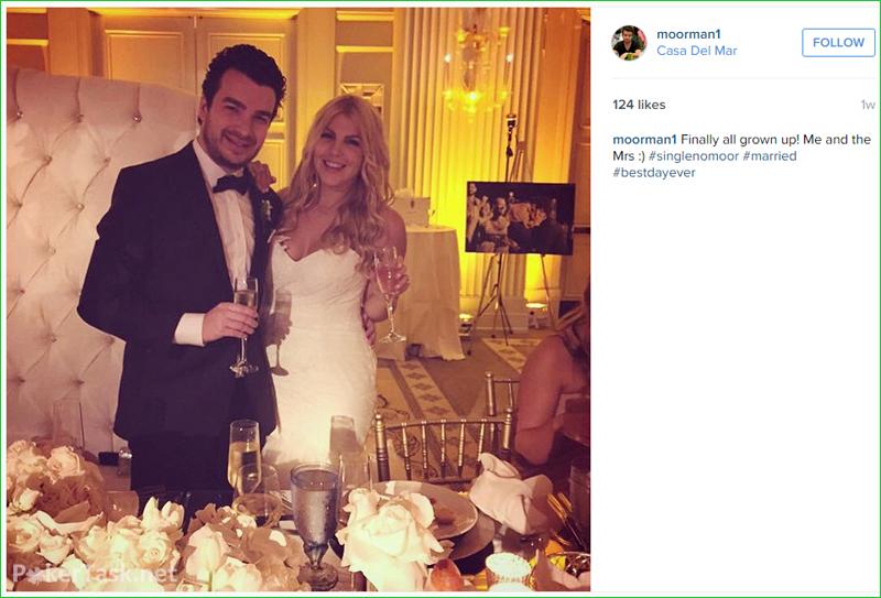 Крис Мурман женился
