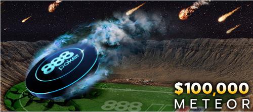 Фриролл $100,000 Meteor на 888Poker — как принять участие