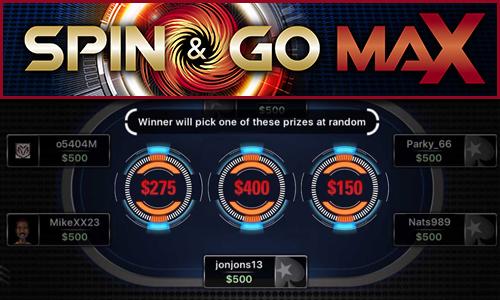 Новый формат спинов от PokerStars — Spin&Go Max
